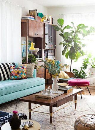 彩色客厅设计参考图