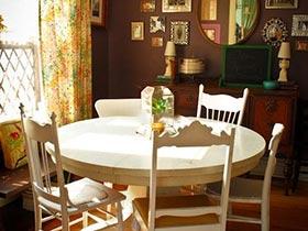 餐厅里的小黄花  10个田园风格餐厅图片
