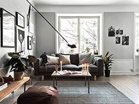 52平一居室小户型装修 一个人的温暖空间