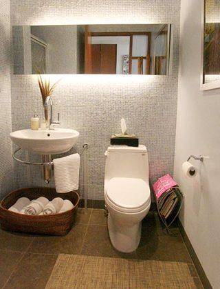 卫生间设计收纳图片大全