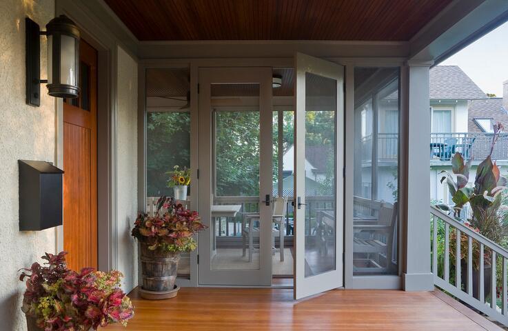 阳台门装修效果图 风格各异阳台门鉴赏
