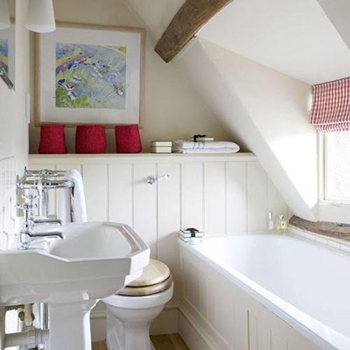 小户型卫生间装修效果图 迷你卫生间装修收纳有窍门