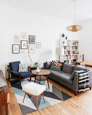 北欧风格装修客厅效果图木地板