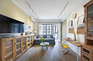 100平北欧三居室客厅装修效果图