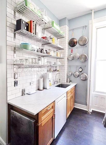 厨房收纳架设计装修图