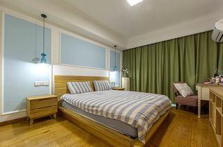 140平北欧混搭三居主卧室装修