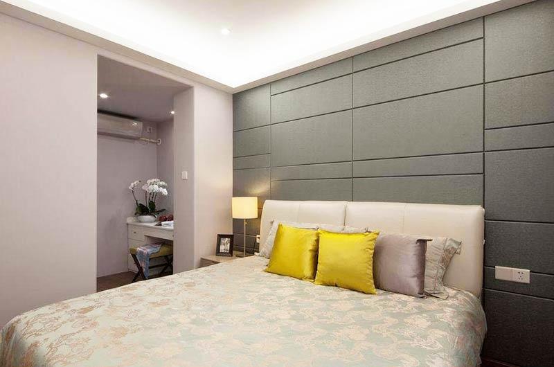 120平简约三居室主卧室装修
