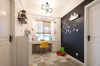 89平北欧两居室开放式书房设计