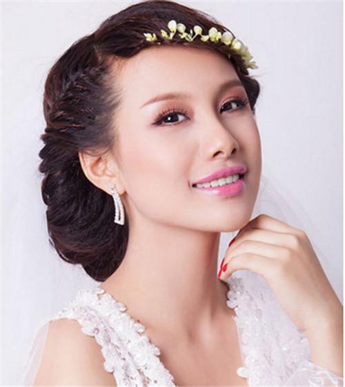 韩国新娘怎么弄好看 2017韩国新娘发型图片