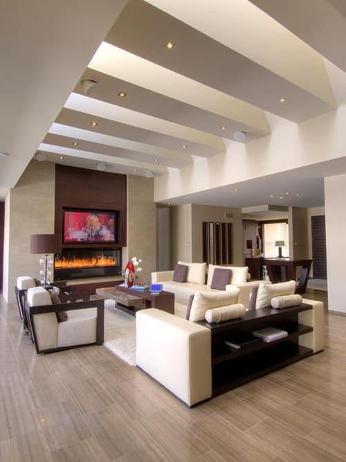 客厅有梁吊顶效果图 客厅有梁吊顶装修你要注意了