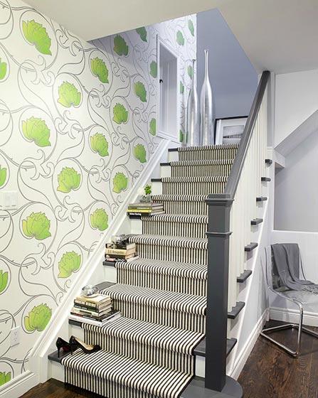 楼梯地毯装修装饰效果图