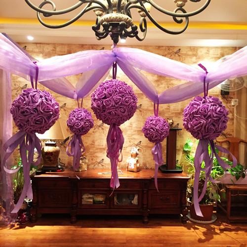 婚房拉花布置图片 如何用拉花布置婚房图片