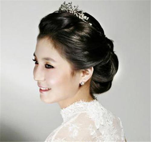 韩式新娘妆图片精选 2017好看的韩式新娘造型