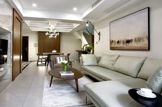 200平复式楼装修客厅设计图