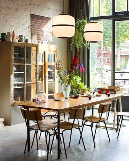 大户型餐厅设计餐边柜装修
