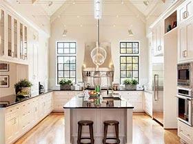 越做越美丽  10款美式开放式厨房设计图