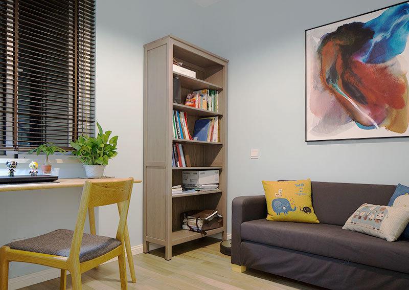 5 10万60平米简约二居室装修效果图,7W打造62平两室小户型装修案图片