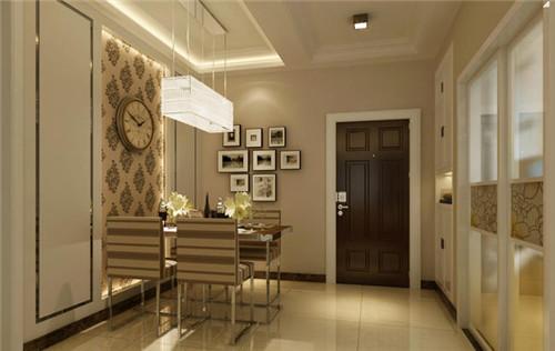 现代简约小户型装修效果图 5.5万装60平靓丽三居室