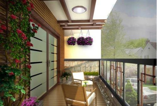 客厅阳台设计效果图 客厅带阳台装修不美都不行