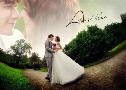 射手座婚纱照欣赏 2017婚纱照拍摄风格大全图片