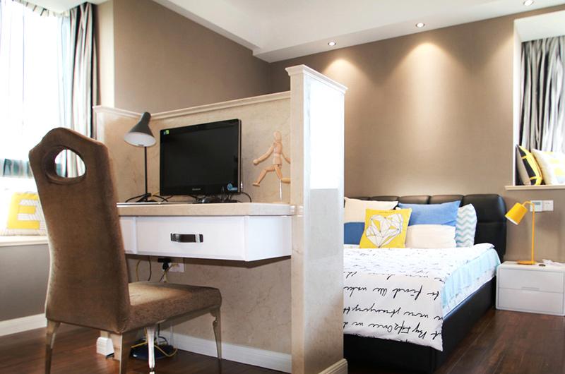 138平简约三居室主卧室设计装修