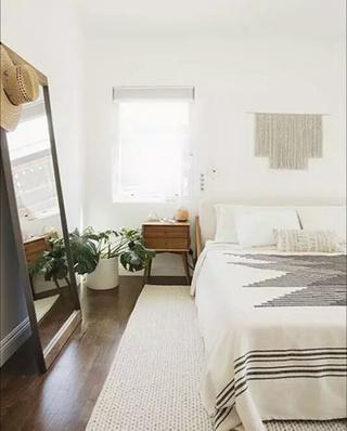 卧室拼接地毯效果图装修