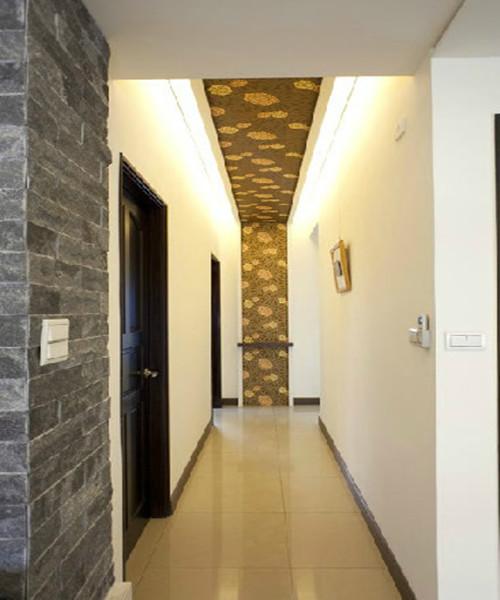 看完惊呆!客厅连走廊吊顶装修效果图