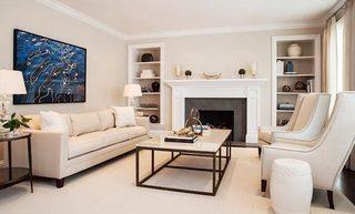 轻美式客厅装修装饰效果图