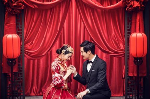 婚纱照中式风格图片 中式婚纱照风格有哪些图片