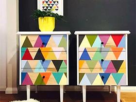10个彩色收纳柜效果图 用色彩活跃家居气氛