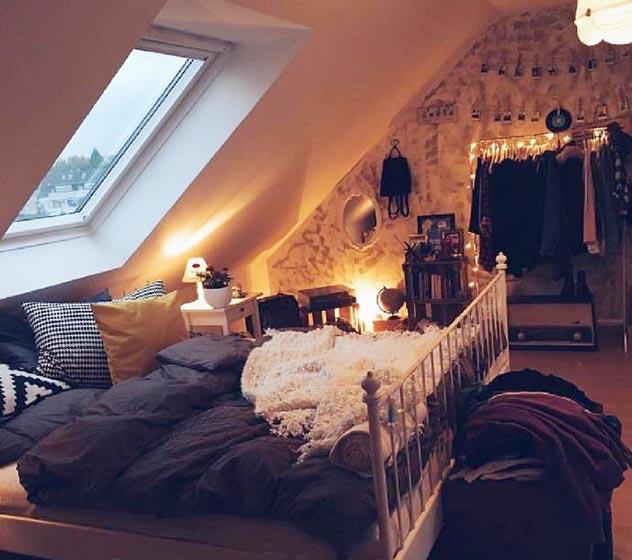 阁楼卧室装修装饰效果图