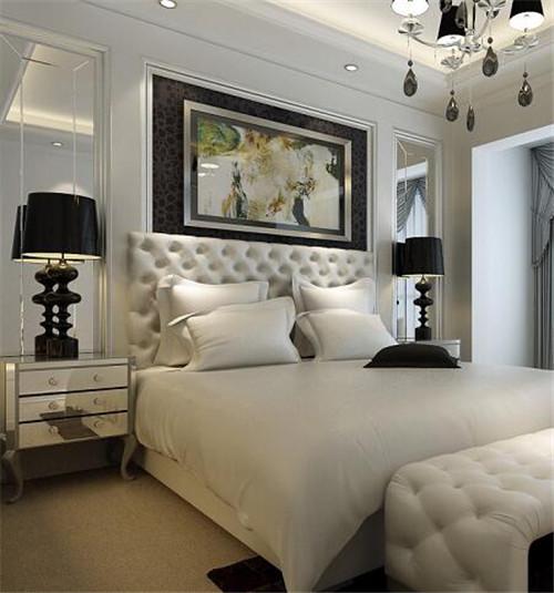 15平米卧室装修效果图 这个卧室竟然让你越睡越美图片