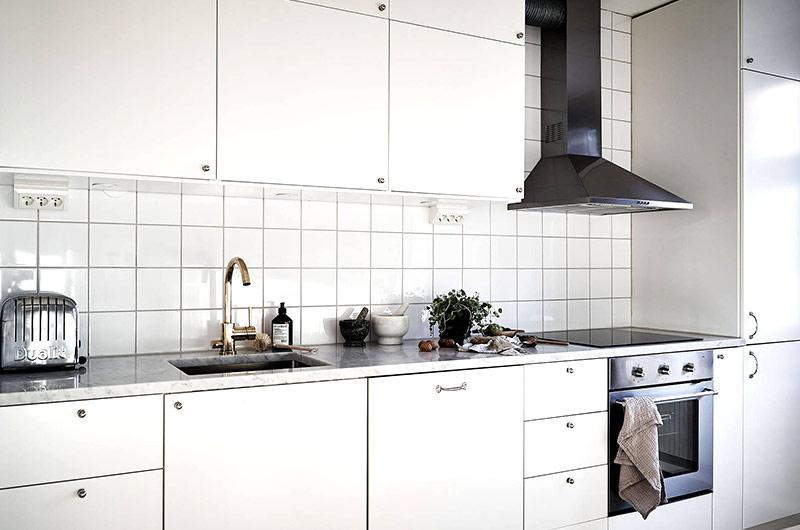 北欧风格一居室装修整体橱柜设计