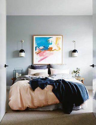 北欧风三居室卧室参考图