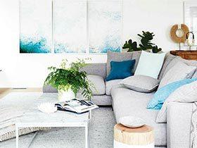 北欧风三居室装修效果图  惬意的新家