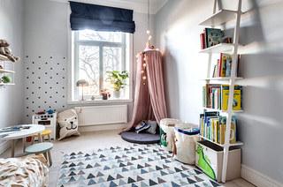 86平两室两厅装修儿童房地毯图片