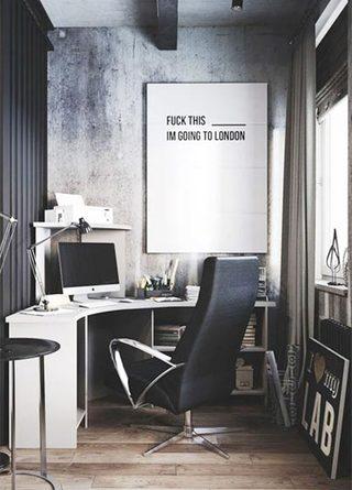 单身公寓装修装饰效果图