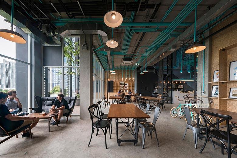 咖啡厅一楼装修装饰图