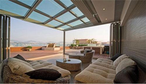 阳台阳光房装修效果图 四款视野开阔的阳光房装修案例图片