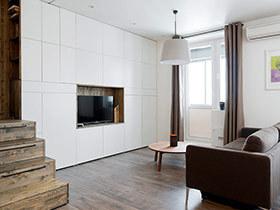 35平小户型旧房改造装修 沐浴和暖阳光