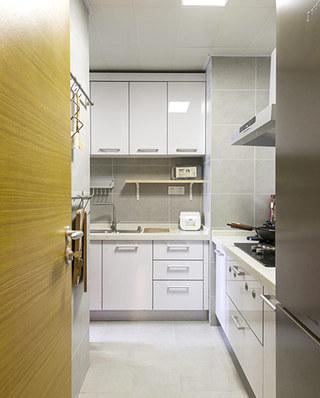 70平北欧风格二居整体厨房装修