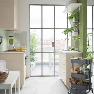开放式厨房装修装饰效果图