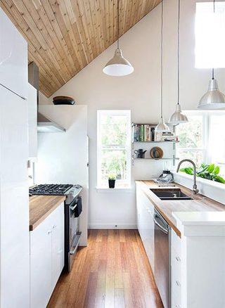 阁楼开放式厨房效果图
