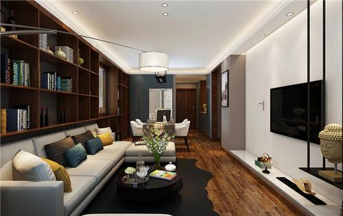 客厅背景墙装修效果图欣赏 极具灵感的电视背景墙设计
