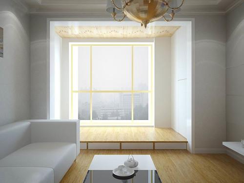 阳台塌塌米装修效果图 4款创意阳台榻榻米设计