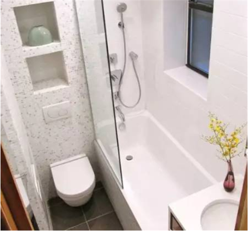 卫生间装修效果图小户型 4款超炫小户型卫生间装修案例