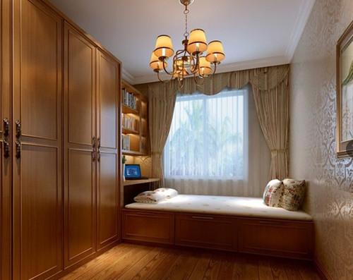 榻榻米衣柜床一体装修效果图 榻榻米床衣柜一体设计案例