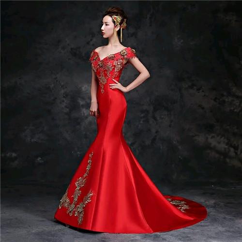 中国新娘礼服图片 中式婚纱礼服款式有哪些