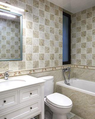 145平美式四居室瓷砖装修效果图