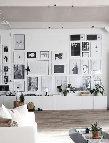 客厅背景墙布置装修平面图